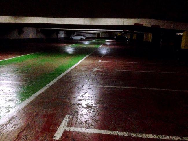 Parking Garage Parking Area Underground Underwater Photography Darkness And Light Darkness Scary Lost Garage