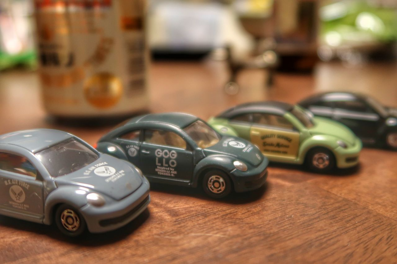 Car Old-fashioned Mode Of Transport No People Close-up Day Miniture Mini Car Indoors  Volkswagen Volkswagen Beetle Beatle Figure Tomica トミカ 世田谷ベース ミニカー フォルクスワーゲン ビートル 所ジョージ Cars CarShow Car Colection Beer