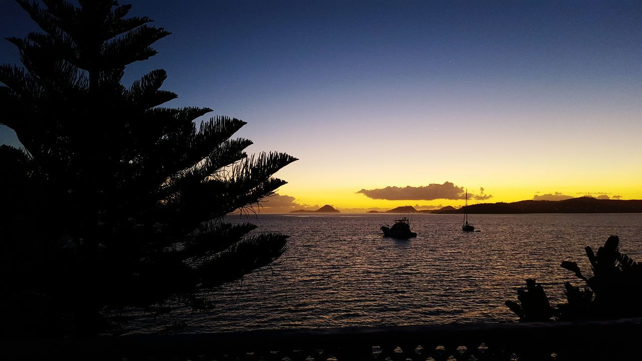 Morning Sunrise Bayview Boat Nelsons Bay Landscapes With WhiteWall Beach Outdoors Travel