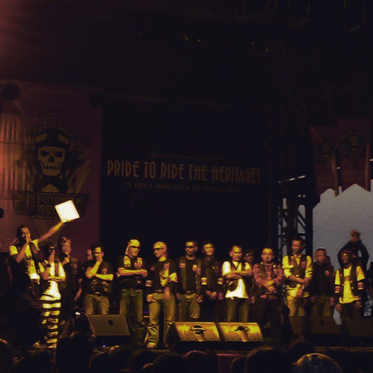 ClosingCeremony LongLive Brotherhood 27thbirthday 27thAnniversary 27thbbmc Bbmc 2662 Pridetoridetheheritages Classic is still the winner ! Classicbike Custombike INDONESIA Bandung Lzybstrd Lenovotography Photophone  Photooftheday Bike Oldbike Costumbike Streetlife Streetbike Besitua Motorkustom ride ridepride undergroundparty respect proudandrespect