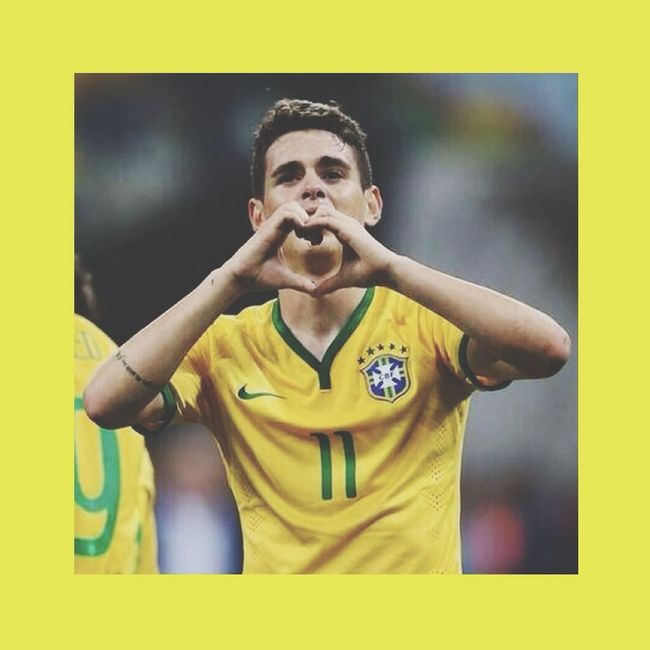 Oscar Soccor Brazil2014 WorldCup Sport One Of My favourite Footballers ❤️?