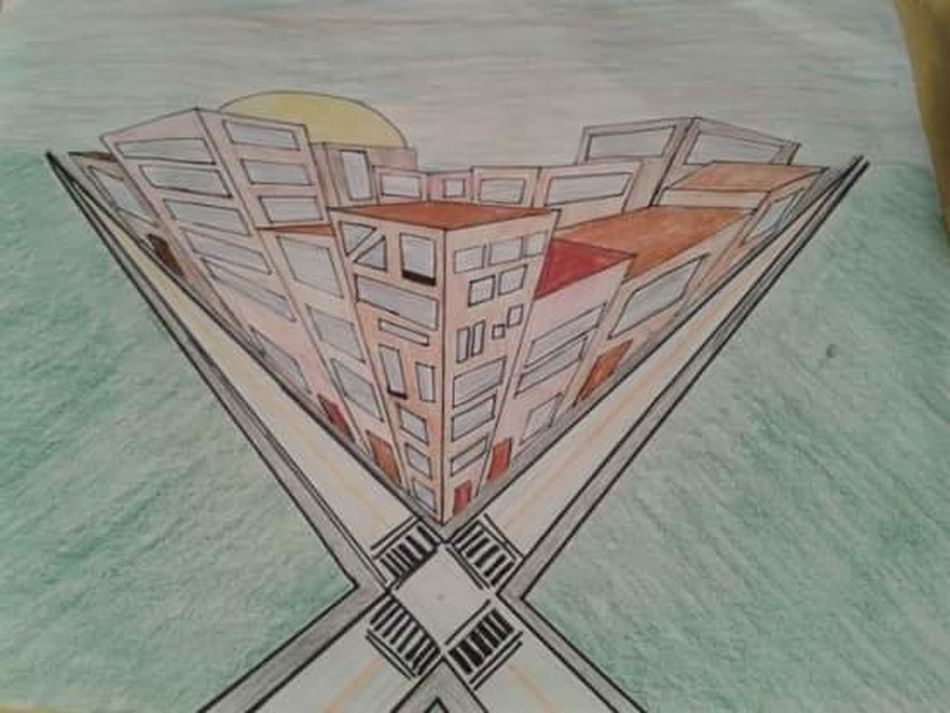My Drawing Cityscapes My Draw ♥ My Drawing 😍 My Drawing (: