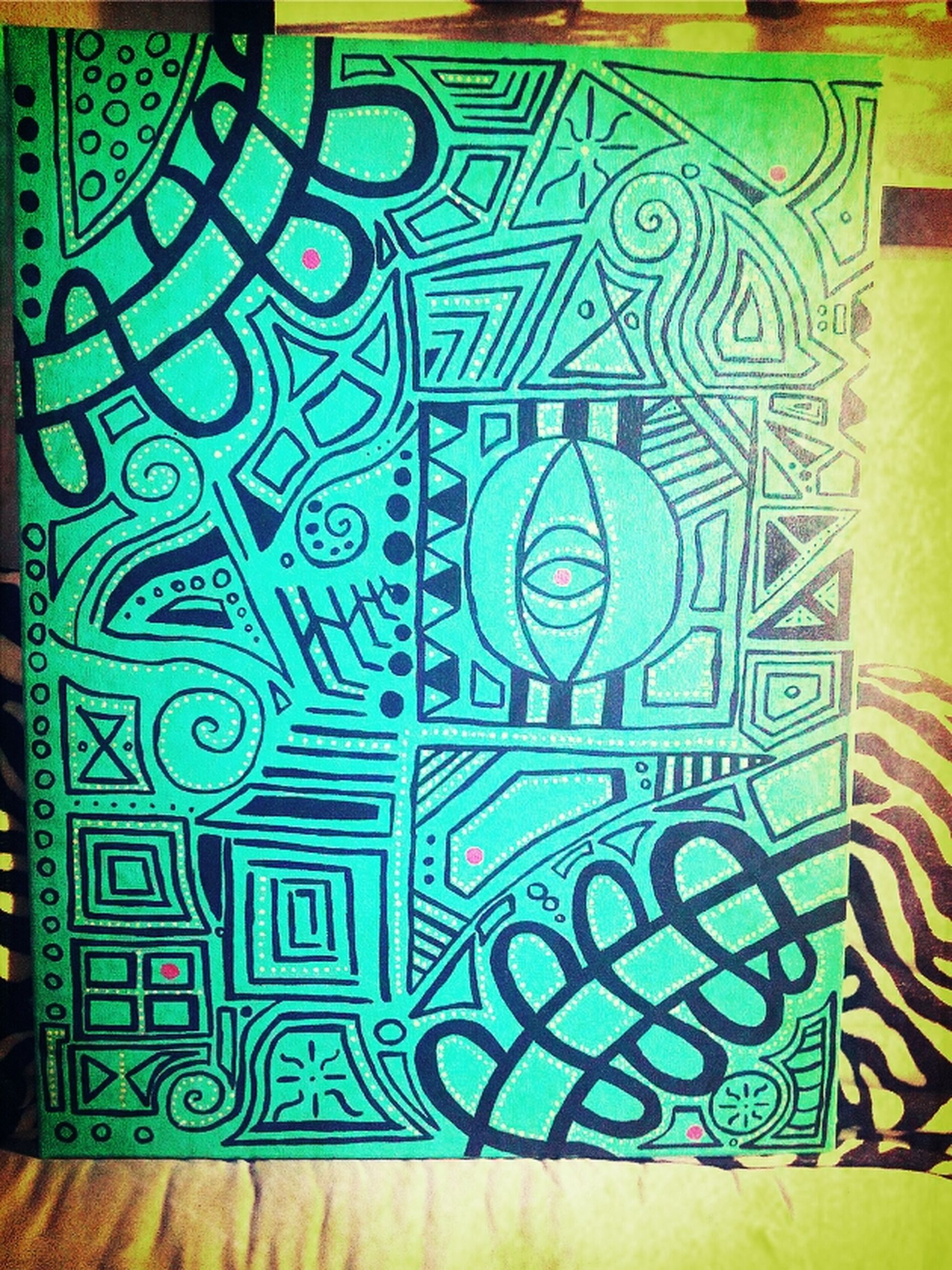 My art, abstract canvas painting
