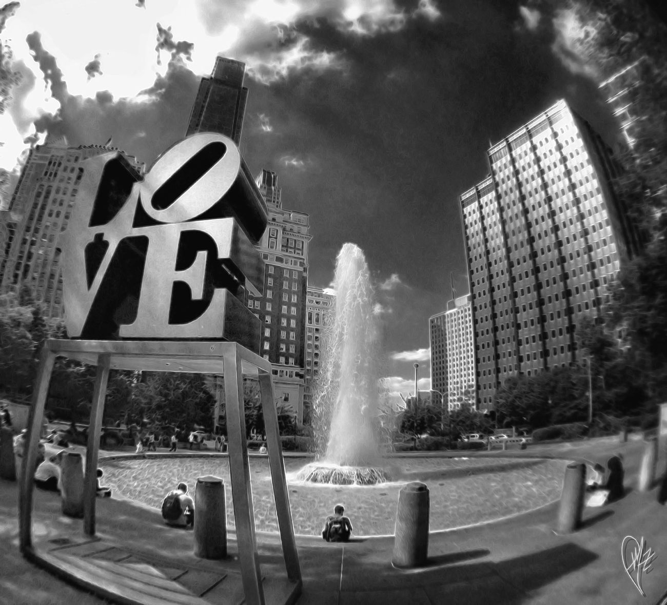 Cityhikers Philadelphia Love Park FishEyeEm