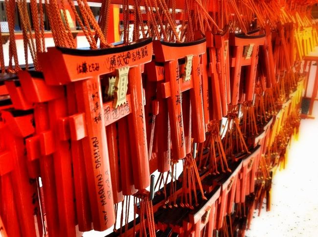Fushimi Inari Japan backpacking trip