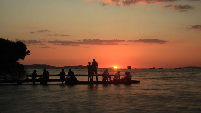 Sea Sunset Sky Beach