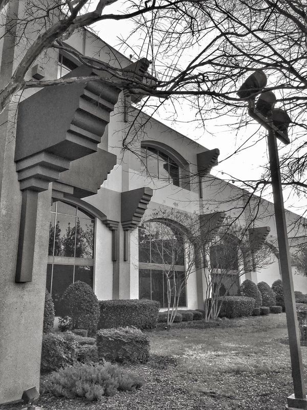 Building Facade. Monochrome Image. Monochromatic Tunicams Robinsonvillems Blackandwhite Monochrome Hollywoodcasino