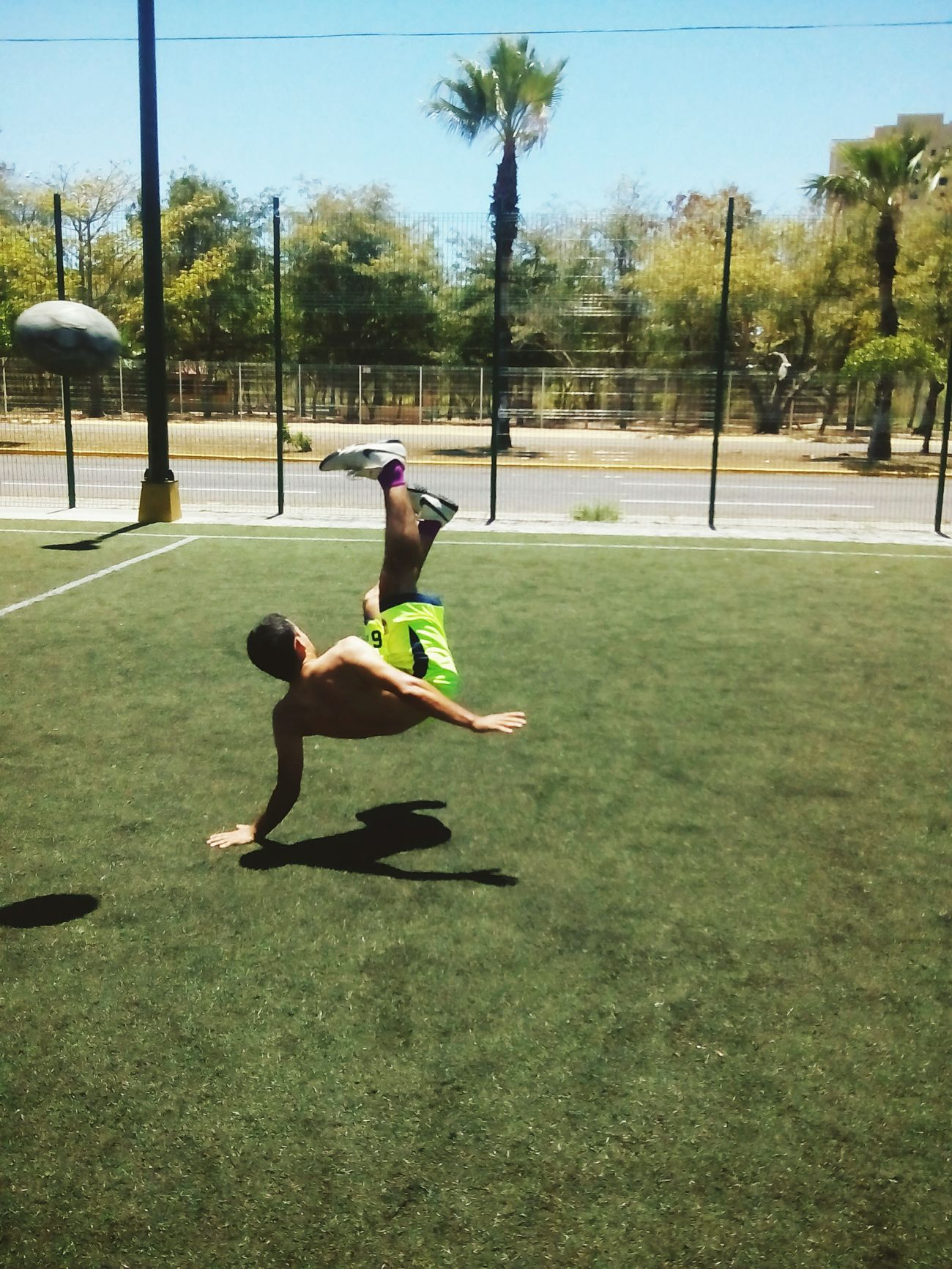 Make Magic Happen Soccer⚽ Goal Good Espectacular Futbol Chilena Grande