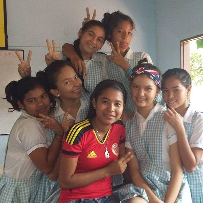 Jaja buena Nenas hermosas EstudiantesDe9 Institución Educativa De Sibarco Tus pupilos @luz.dealfaro