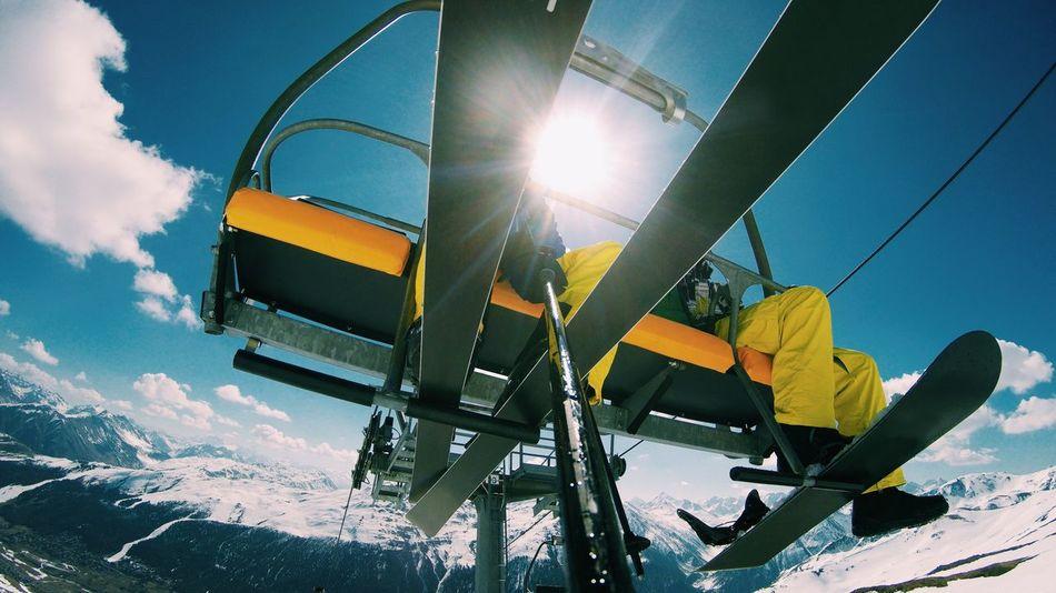 Active Lifestyle  Activity Day Fisheye Gopro GoPrography Goprohero4 Goprooftheday Low Angle View Outdoors Scenery Ski Ski Holiday Ski Lift Ski Lift Shots Ski Pole Skier Skiing Sky Snow Snowboard Sports Photography VSCO Winter Sport Winter Sports