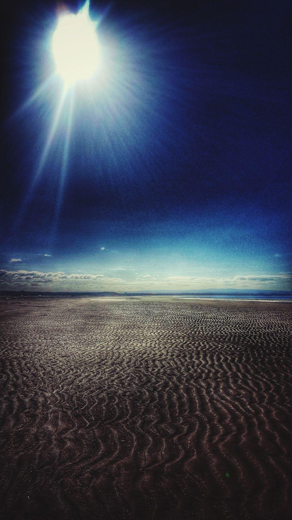 Sunlight Troonbeach Beachphotography Beach Walk Glorious Sunlight Troon Ayrshire, Scotland Sandripples Tides Peace NatureAtItsBest
