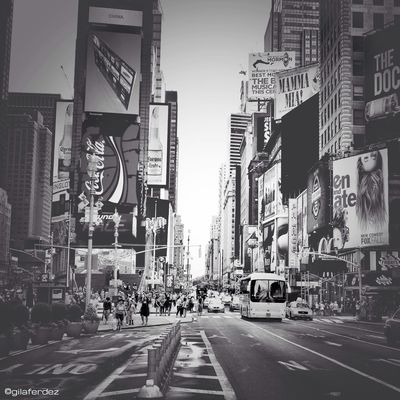 blackandwhite at New York by gilaferdez