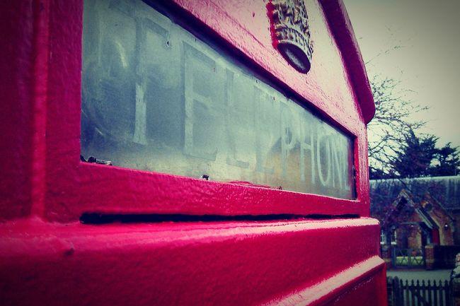 Phonebooth Perspective Village Telephone Telephone Box Retro