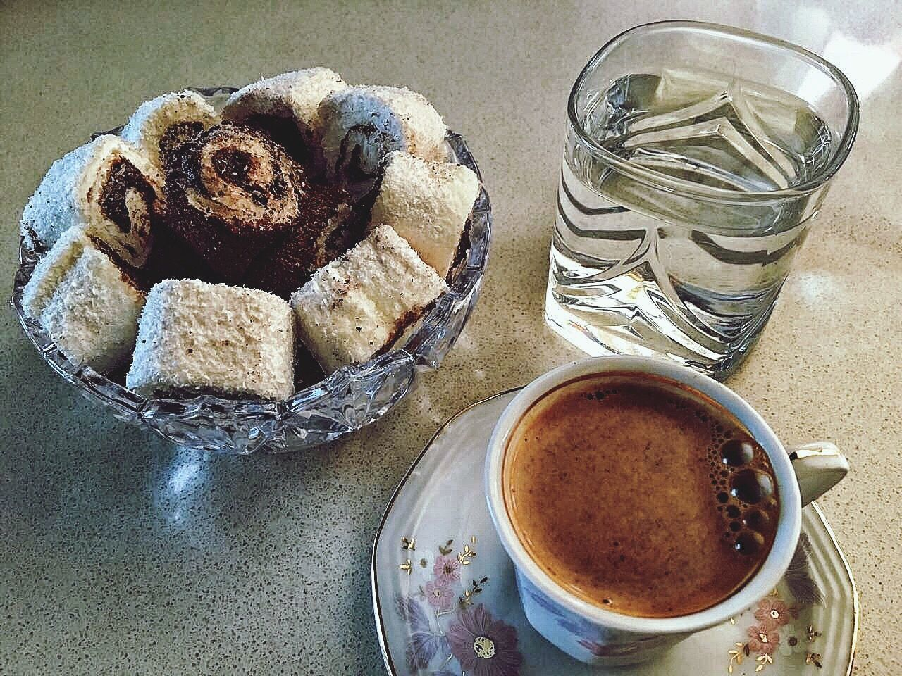 Turkish Delight and Turkish Coffee Turkishcoffee Turkish Delight Coffee Coffee Time Food Food And Drink Drink No People First Eyeem Photo Lieblingsteil EyeEmNewHere Uniqueness Miles Away Close-up Ready-to-eat Indoors  Turkey EyeEm EyeEm Best Shots EyeEm Gallery Day EyeEmBestPics EyeEm Best Edits Healthy Eating Cultures