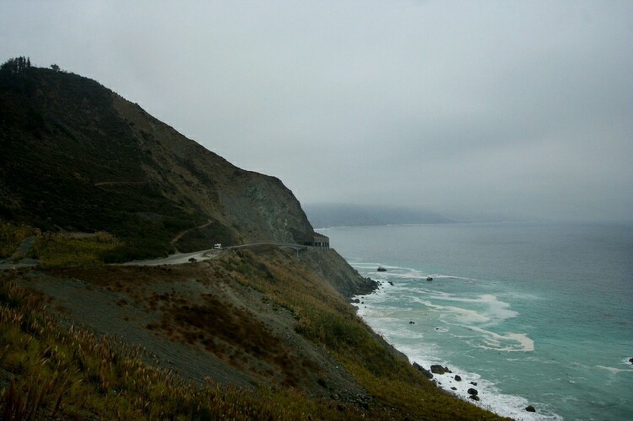 cloudy day when we rented the car me and the boyfriend. Oh and we had abig argument in the car Check This OutPacific Coast Highway Popular Photos California Love Beautiful Nature Nature_collection EyeEm Nature Lover California Dreaming Enjoying Life Thetraveler-2015EyemAwards Highway 1