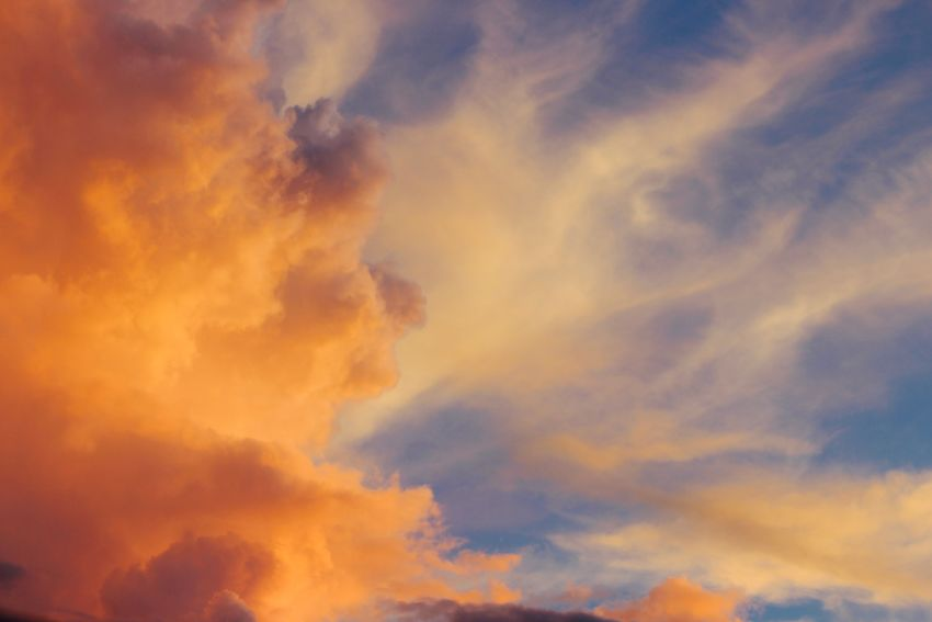 Cloud - Sky Beauty In Nature Sky Nature Dramatic Sky Low Angle View Sunset Scenics Sky Only Cloudscape Backgrounds Atmospheric Mood Tranquility No People Majestic Tranquil Scene Idyllic Full Frame Outdoors Awe