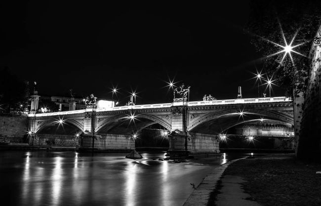 My lovely Rome Roma Rome Rome Italy Rome By Night Whiteandblack Lights Light Up Your Life Photo Photography Photooftheday Photography Is My Escape From Reality! My Escape  My Passion Lungotevere My Beautiful Rome Eyemphotography Eyem Gallery Eyem Best Shots Eyemphotos Eye4photography  Canonphotography Canon_photos My Loneliness Thoughts Eyemcaptured