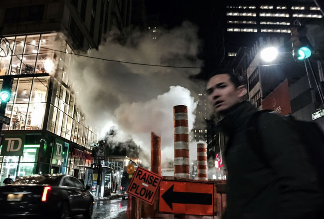 #evening #commute #Manhattan #nyc #winter2016 #gothamsambassador @chen_po_chien | @laibit