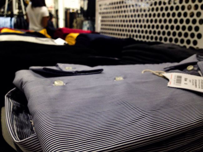 Shirt Shirts Commercial In The Shop  Shop Commercial Visual Merchandising