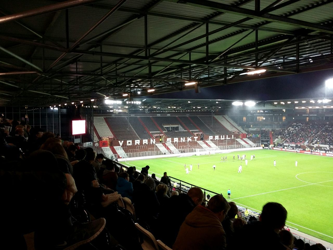 St. Pauli Vs Werder Bremen Friendly at Millerntor-Stadion II. · Hamburg Germany 040 Hh FCSP Fussball Fussball Football Soccer Real Football Stadium Stadion Arena Fans Football Fans People Watching Test Match Green Architecture