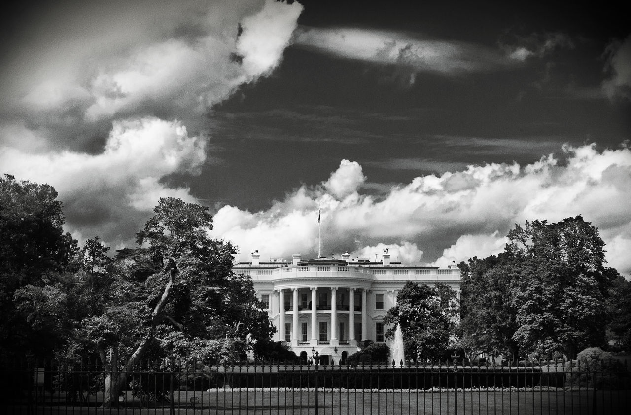 Beautiful stock photos of white house, Architecture, Building Exterior, Capital Cities, Cloud
