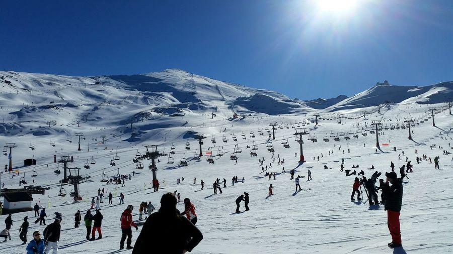 Sierra Nevada Snow Vacations Mountain Winter Ski Holiday Cold Temperature Sport Shades Of Winter