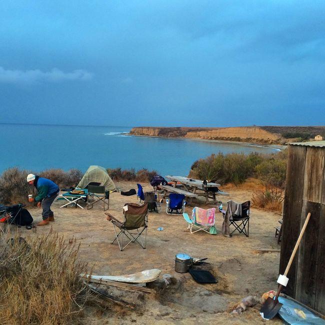 My dream vacation . California Gaviotacoast Ocean Pacific Ocean Outdoors Surfing Ocean View Surf Camping Camp