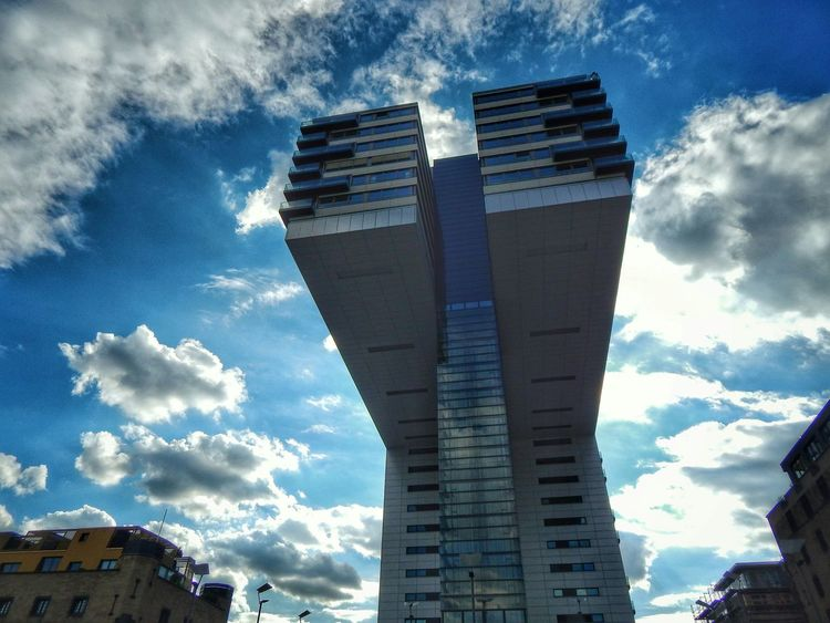 Krankenhaus Kranhäuser Rheinauhafen Köln Crane House BuildingPorn Building Amazing Architecture Sky And Clouds