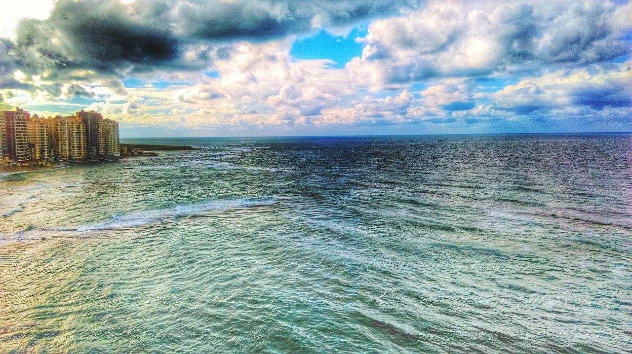 First Eyeem Photo Alexandria Egypt Sea And Sky Seascape Skyscape