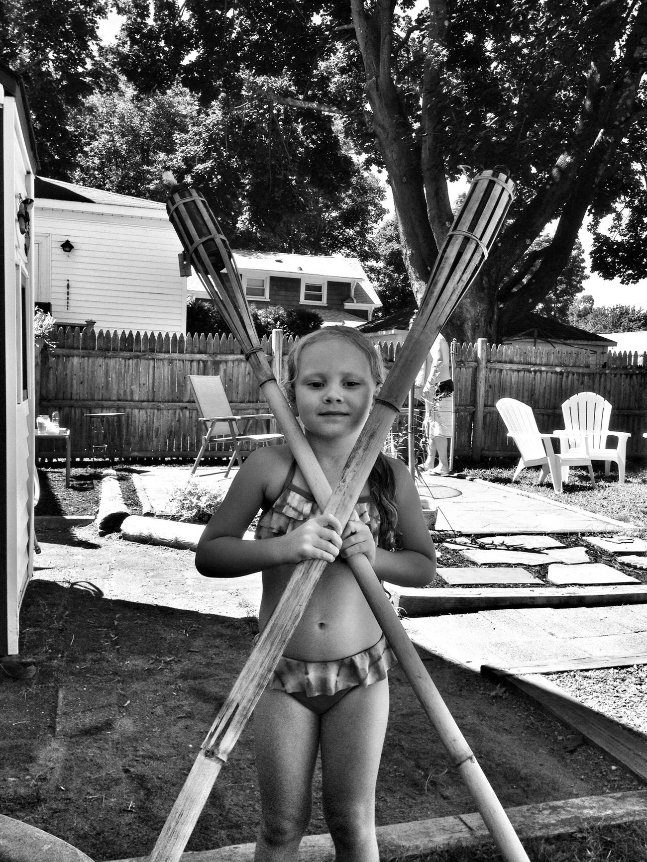 Tiki Torch Summer 2013 My Girl Blackandwhite