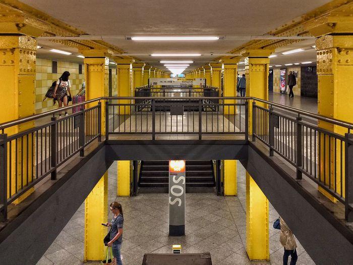 Bahnhof Lichtenberg Public Transportation Notes From The Underground Subway Eye4photography  Underground Berliner Ansichten Berlin The Traveler - 2015 EyeEm Awards