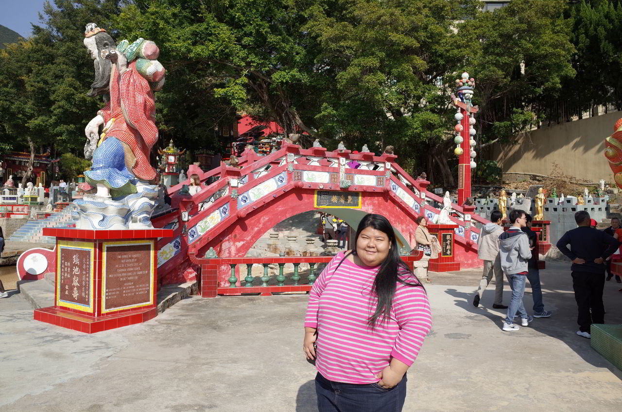 Asian Girl Casual Clothing Chubby Cultures Fat HongKong Obese Obesity Toothy Smile Woman