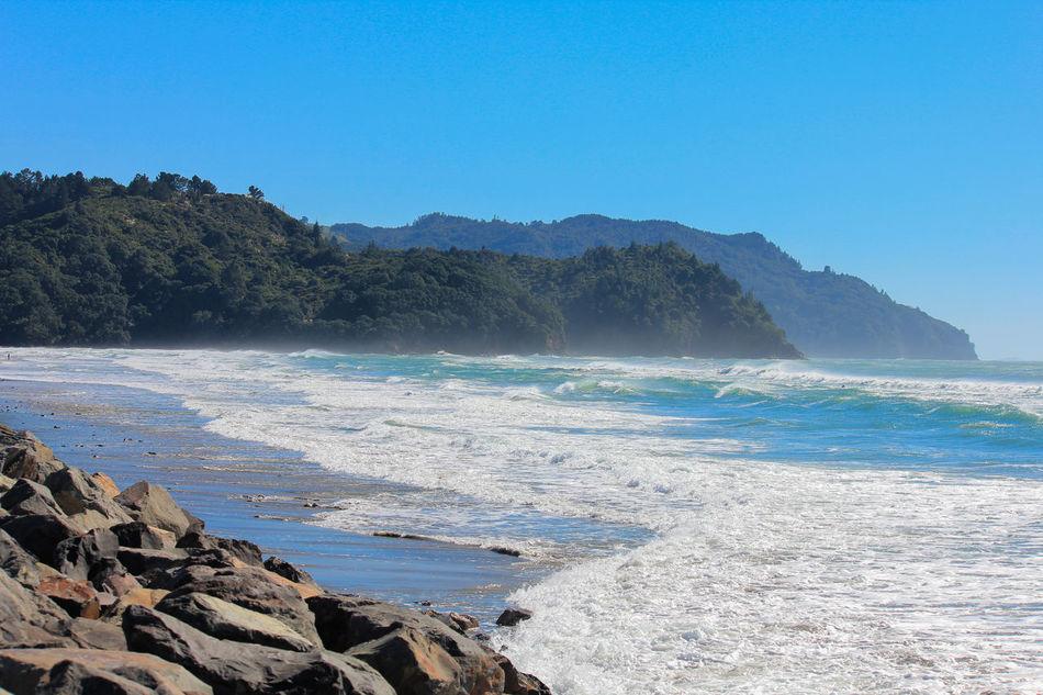 Beach Life Beach Photography Coastline New Zealand Scenery Summer Surf WaihiBeach Water
