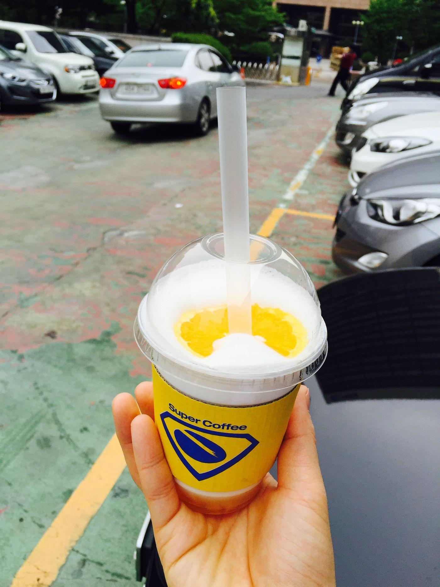 Super Coffee Ice Coffee Orange Coffee