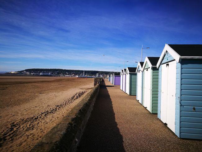 Weston-Super-Mare seafront First Eyeem Photo