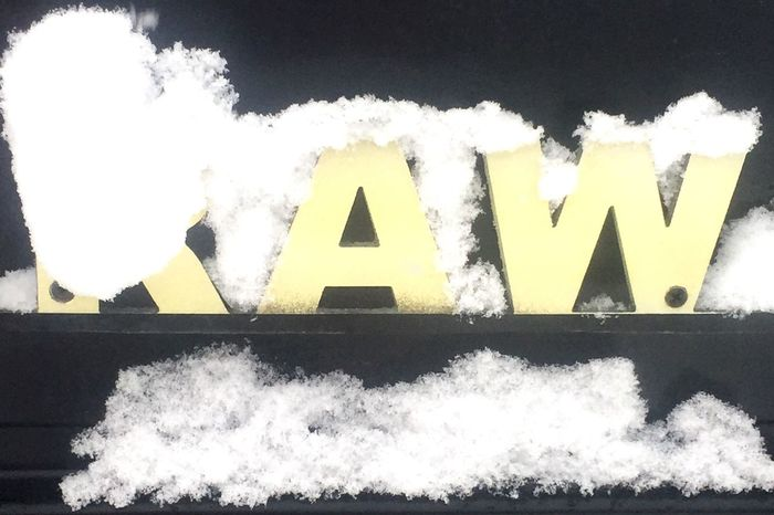 Urban snow raw