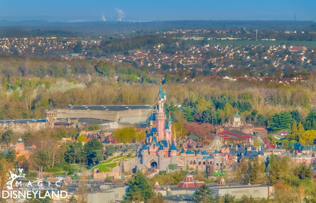 Aerial View Outdoors Disneyland Resort Paris Disneylandparis Love Disney Waltdisney Beauty In Nature Disneyland Paris Disneyland Travel Destinations
