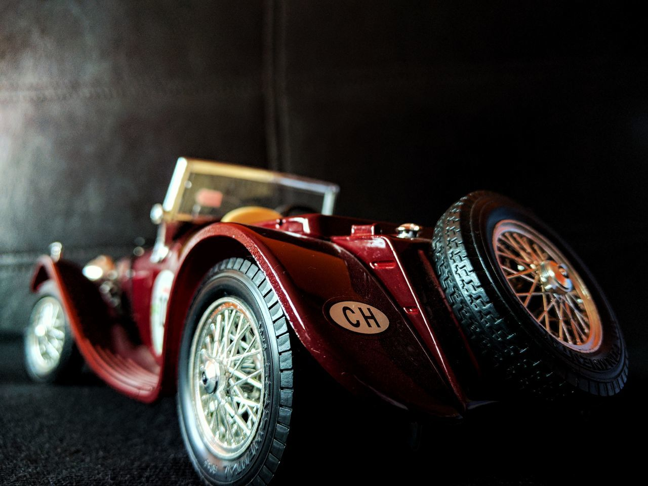 Old-fashioned Collector's Car Red Car No People Close-up Racecar Auto Racing Sports Track Motorsport Day Formula One Racing