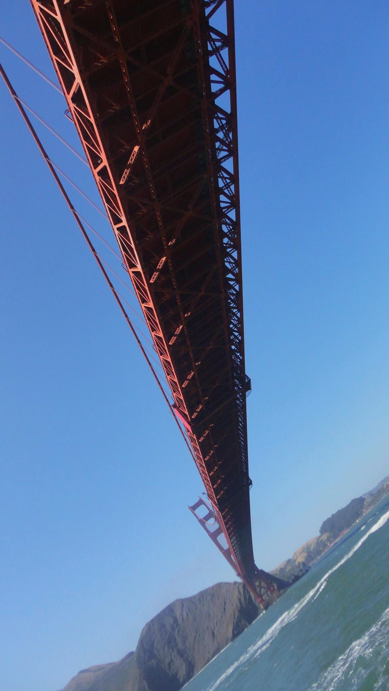 USA Golden Gate Bridge Sanfrancisco Trip America Bridge Sea Red Cruising California USAtrip USA Photos United States Sanfranciscocalifornia On The Sea On The Ship Looking Up Eyeem Bridges Sky And Sea Golden Gate Strait Bridge View Long Bridge サンフランシスコ アメリカ カリフォルニア