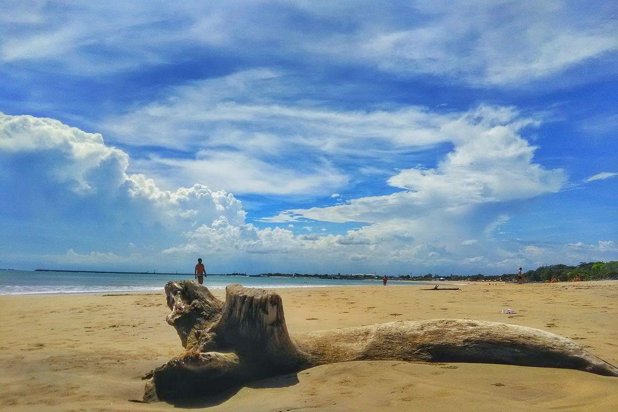 Landscape Landscapes Clouds And Sky Beach Sky Sand Sea Cloud - Sky Nature Tranquility Blue