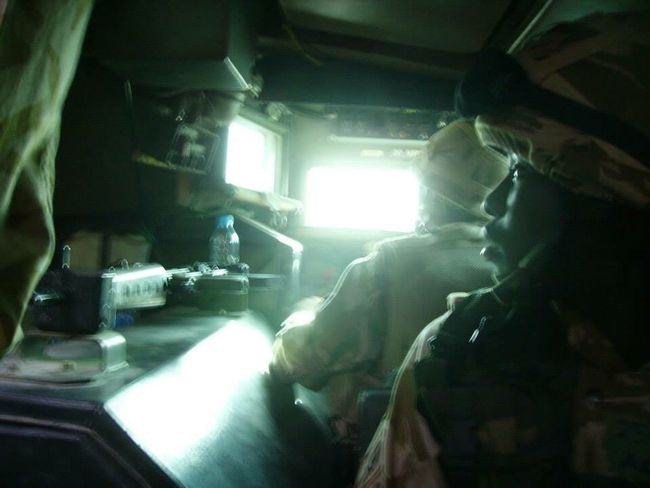 Afghanistan War Fear Anxious  Saxon Headshot Heat - Temperature Gun Rifle Helmet