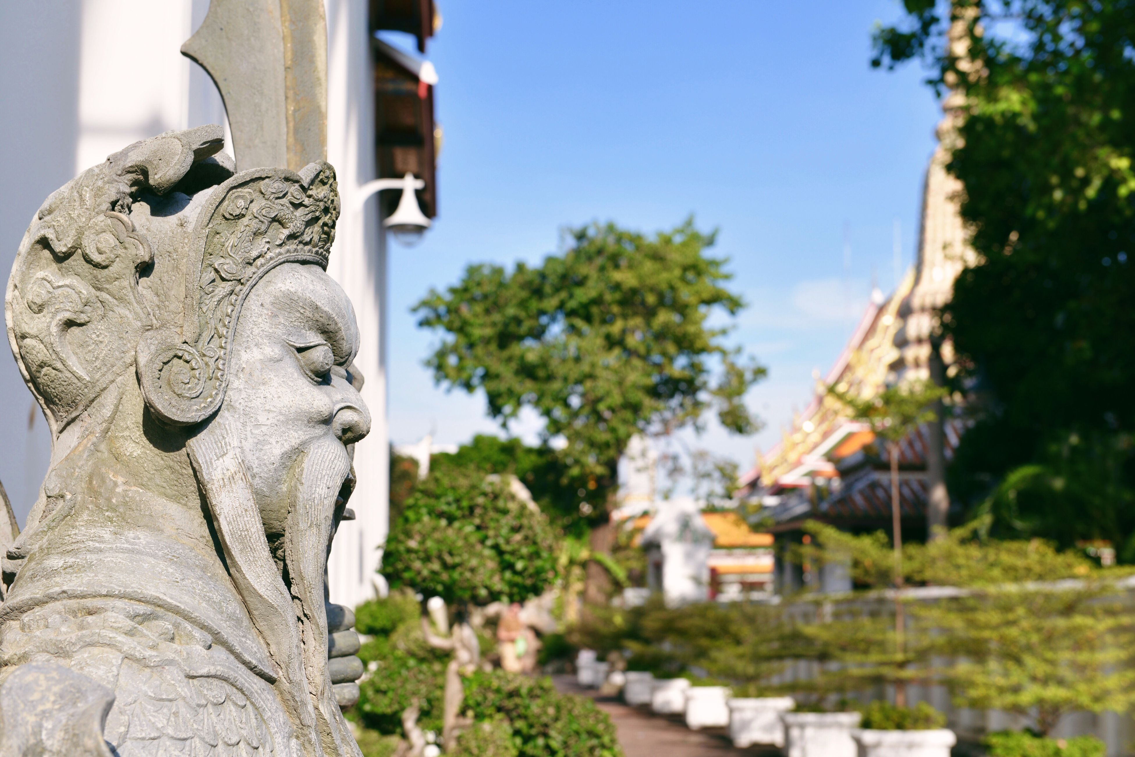 Royal Temple Temples Statue Buddhist Temple Being A Tourist Travel Tourism Spotted In Thailand