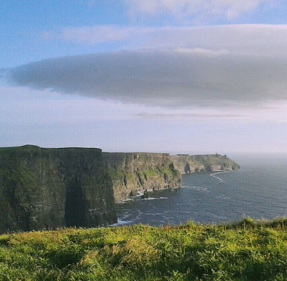 Cliffs Of Moher  Ireland🍀 I Love It ❤ Fantastic Relaxing Taking Photos Enjoying Life Gmorning🌞
