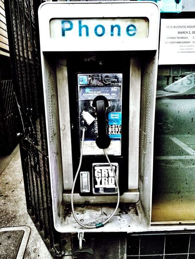 Phone PhonePhotography Relic From The Past My Country In A Photo Romantic Vs. Realistic Hello World USA
