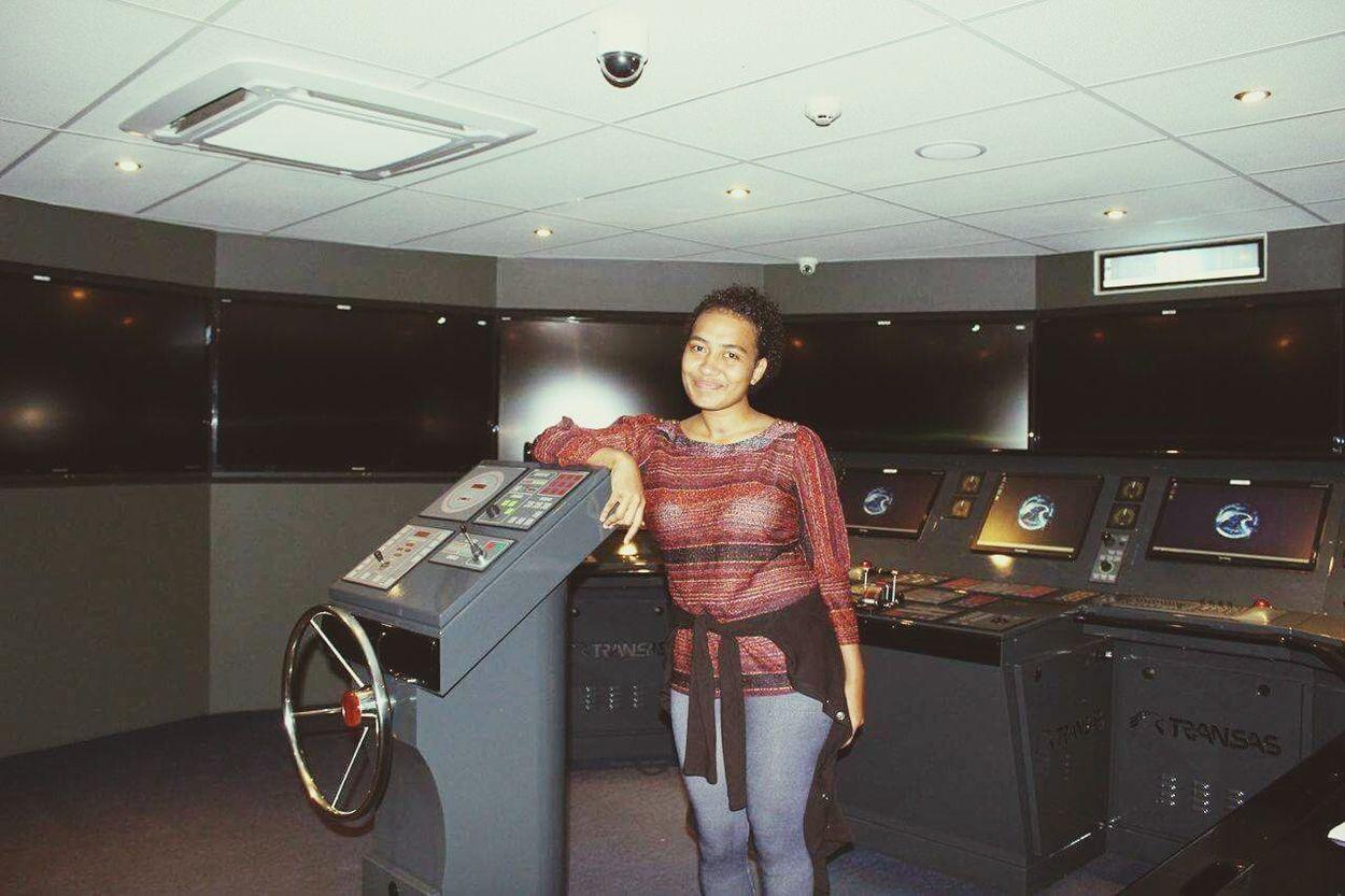 Every Deck Officer's dream office👣 Bridgesimulator Indoors  Youngseafarer Chasingdreams