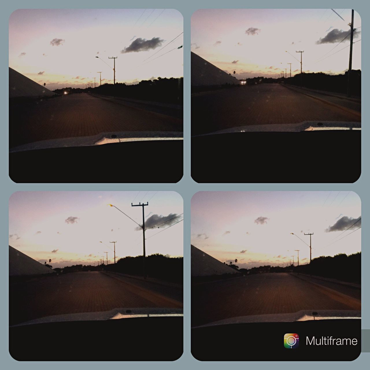 Sunset Sky Road My Year My View Eyeemphoto Outdoors Photography Driving Around Driving Drivebyphotography