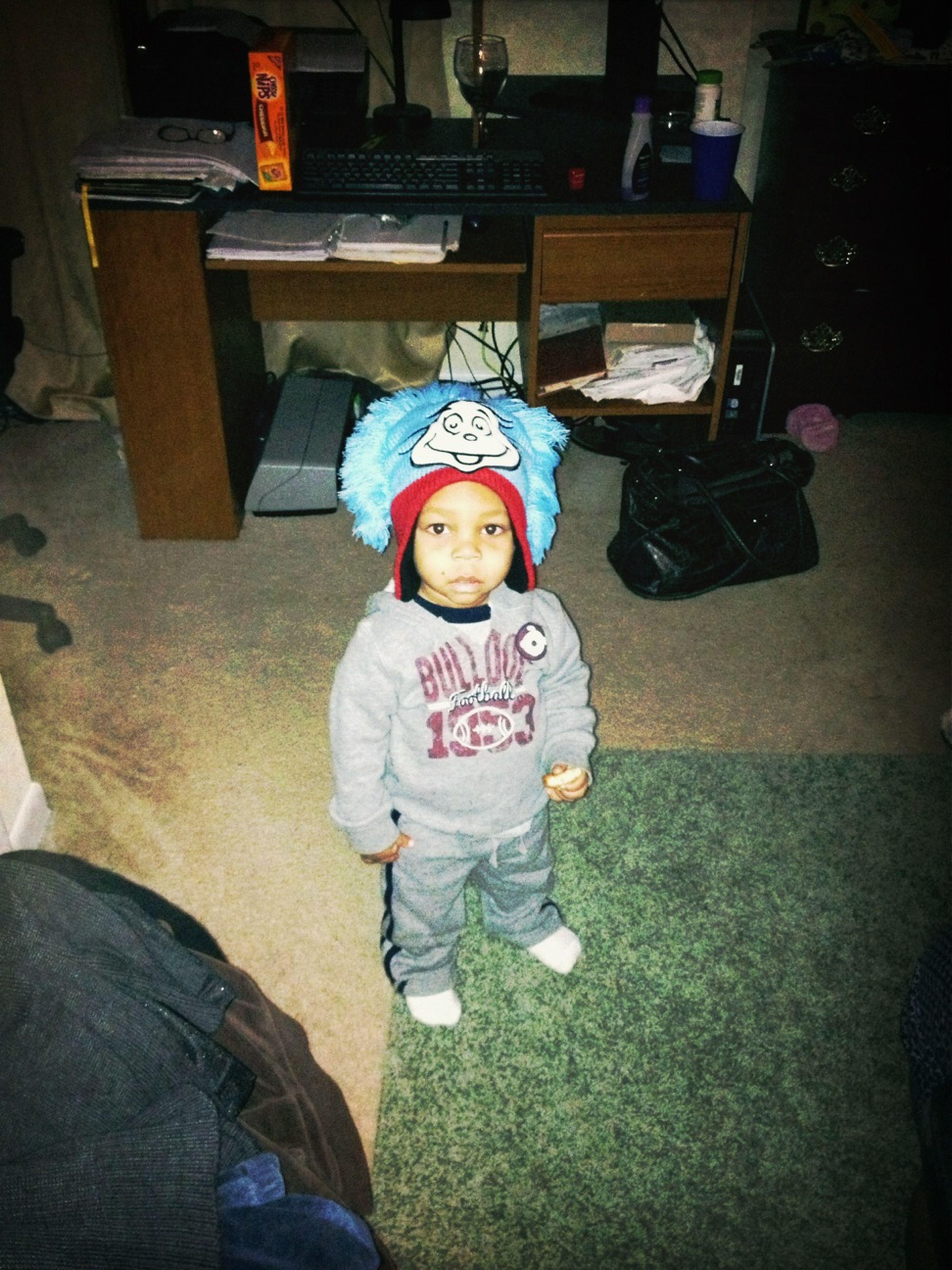 His Hat Live Af