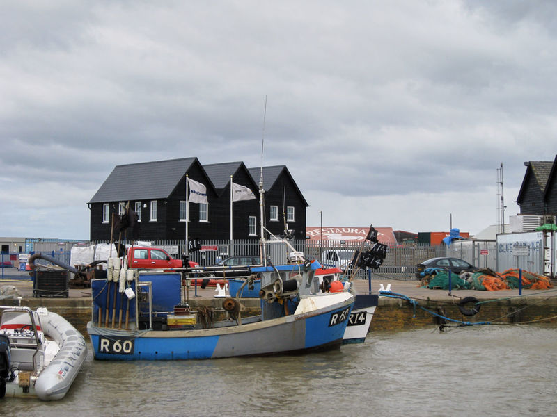 Built Structure Cloud Cloud - Sky Cloudy Day England Mode Of Transport Nature No People North Sea Outdoors Sky Whitstable Whitstable Harbor Working Harbor