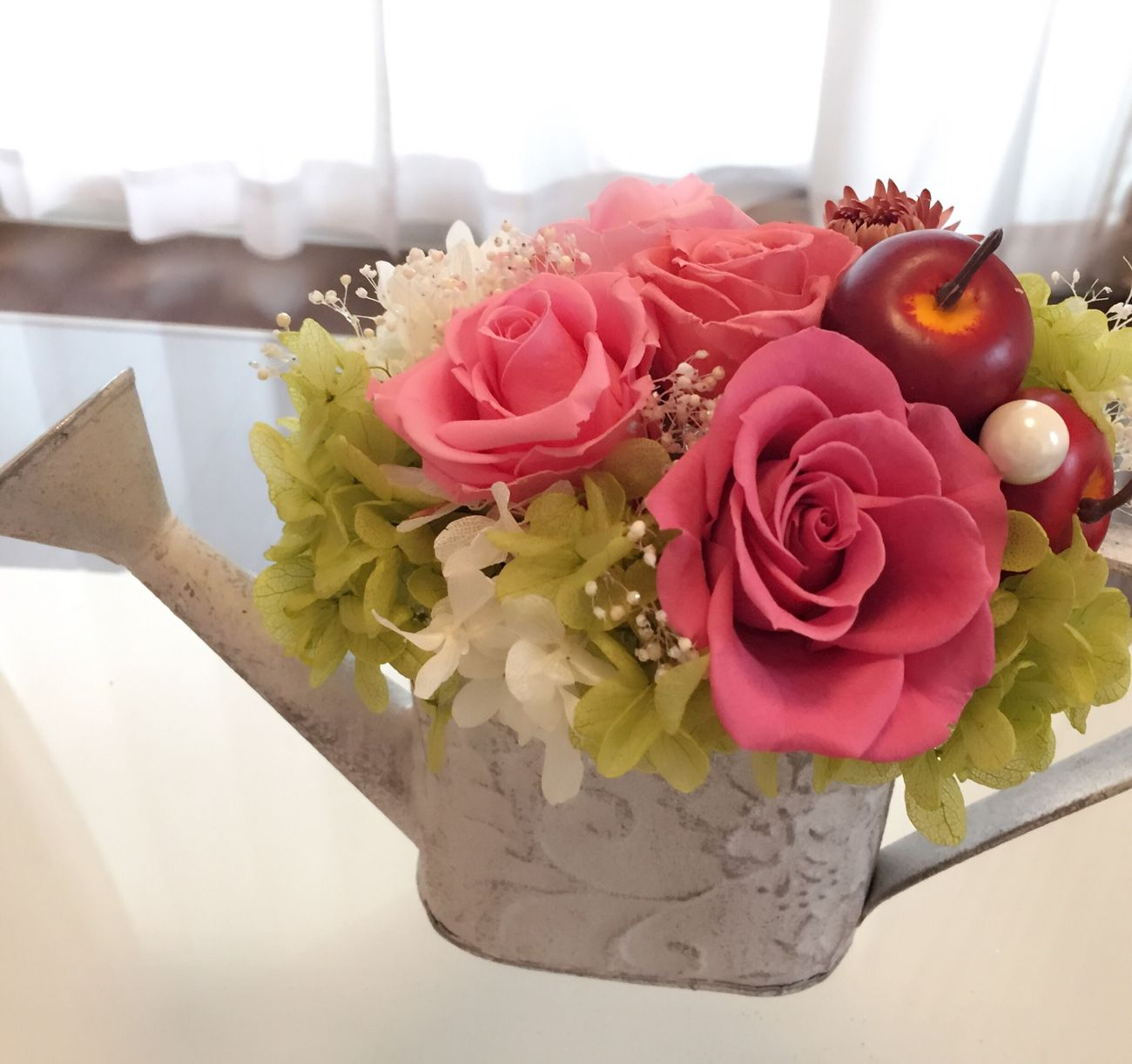 Flower Rose - Flower Pink Color ブリザードフラワー 手作り 趣味 趣味