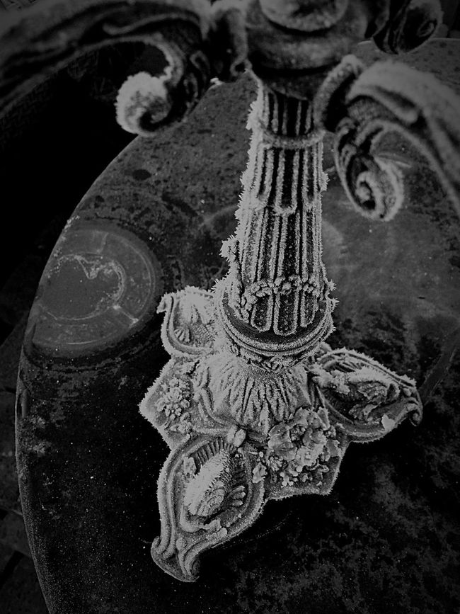 Frost Chandelier Cold Abandoned Found Object Shootermag Vintage Moments